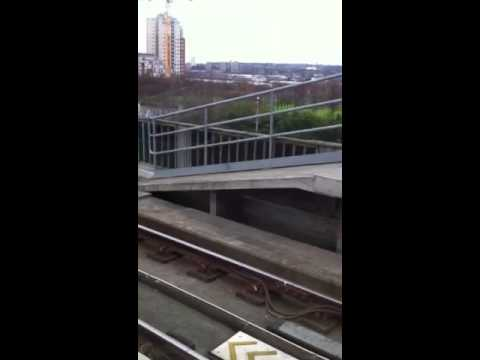 Docklands Light Railway to London city airport part 2