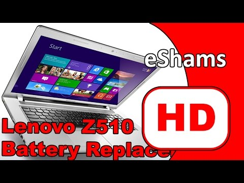 Lenovo Ideapad Z510 Battery Replacement 4K