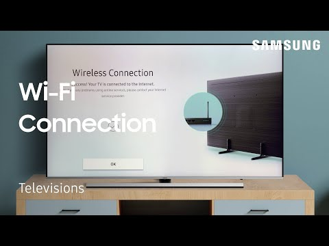 Connect your TV to a Wi-Fi Network