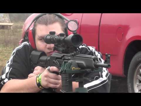 Custom .308 Saiga Rifle Accuracy