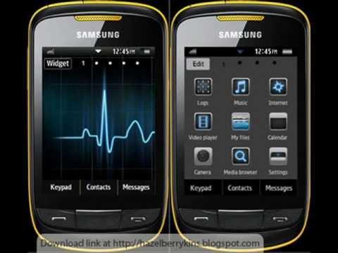 tema para celular samsung corby 2 s3850