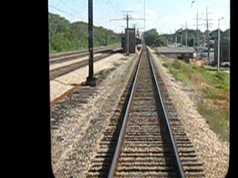 Infront of CTA Train, Chicago