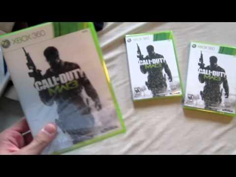 Modern Warfare 3 Unboxing!