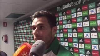Declaraciones de Rubén Castro, tras el Betis-Leganés (2-0)