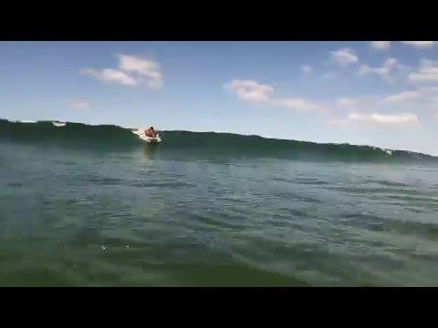 Surfing Omaha NZ