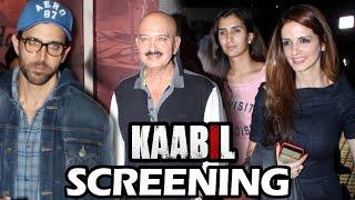 KAABIL Special Screening | Rishi Kapoor, Hrithik Roshan, Yami Gautam, Shabana Azmi
