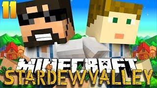 Minecraft: STARDEW VALLEY | WE FOUND GOLD?! #11