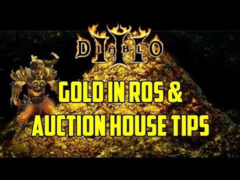 Diablo 3 - Gold in RoS & Auction House Tips