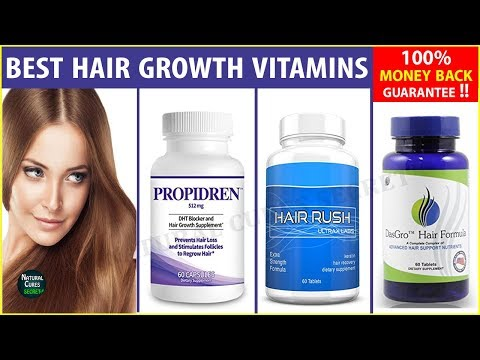 Top 3 Hair Growth Vitamins In USA With Price | Best Hair Growth Products