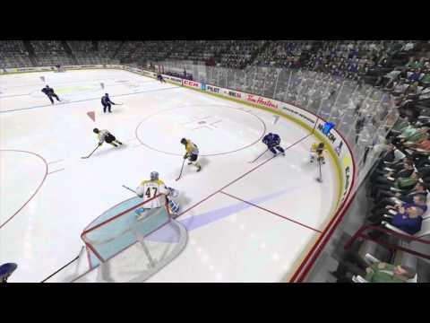 NHL 14 Online teamplay gameplay as goalie 1