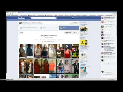 Photo Album on facebook, How to create