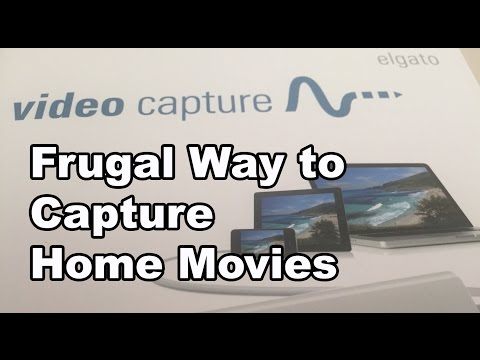 Frugal Way to Capture Home Movies (Elgato Software)