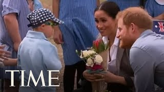 This Kid Could Not Get Enough Of Prince Harry