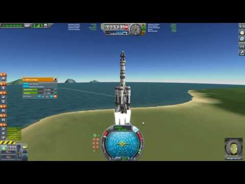 KSP Tutorial Orbital Rendezvous Part 1 -  Setup and Launch