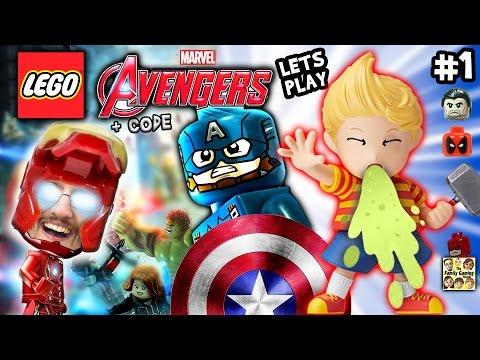 Duddy plays LEGO Marvel Avengers #1 w/ Amiibo Lukas Pukas + CHEAT CODE (FGTEEV 2016 Gameplay & Haul)