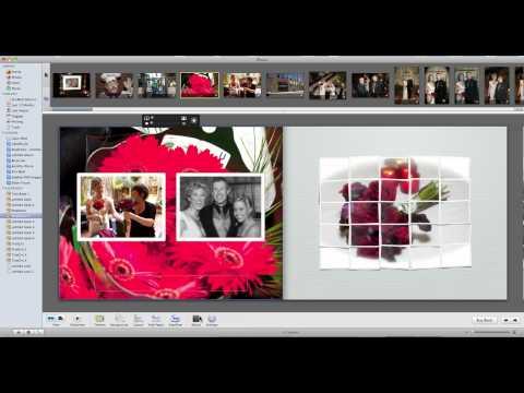 iPhoto Book Customization