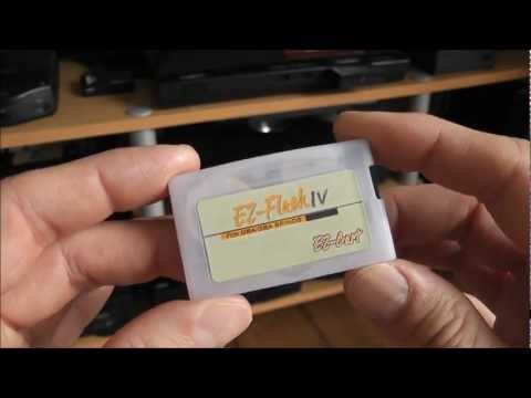 EZ-Flash IV GBA Flashcart - Roms And Homebrew - Nintendo Game Boy Advance