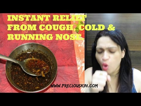 Herbal Cure  | Instant Relief from Severe Cough | COLD | Running Nose | Ayurvedic Drink  |