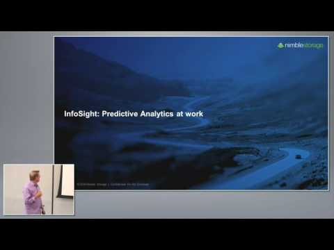 Nimble Storage InfoSight Introduction with Rod Bagg