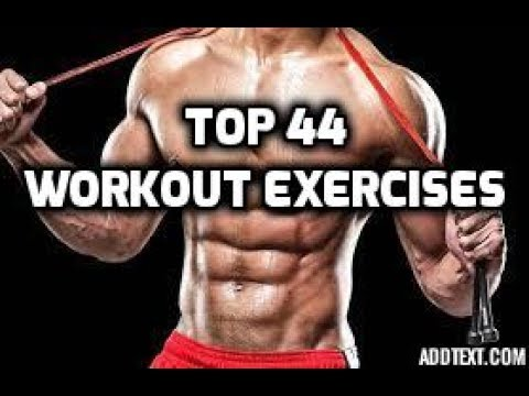 Top Best 44 Workout Exercises Bodybuilding At Home | HS How
