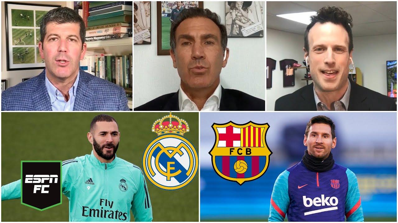 LA LIGA Real Madrid vs Barcelona, ¿cuál es el favorito en El Clásico? ¿El título en juego? | ESPN FC