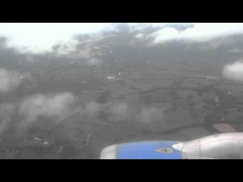 Landing from Arrecife (LANZAROTE) to Manchester (ENGLAND)