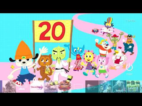 Parappa the Rapper PS4 theme 20th anniversary
