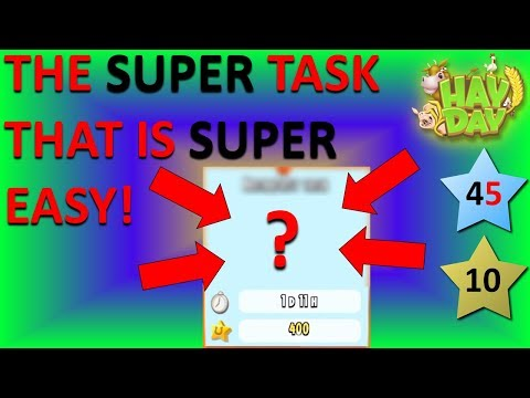 HAY DAY - THE SUPER TASK THAT IS SUPER EASY FOR SUPERSIGHT!