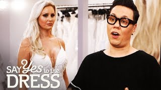 🔴Gok Wan Helps out a Picky Bride Who Has Tried on 40 Dresses!   Say Yes To The Dress UK