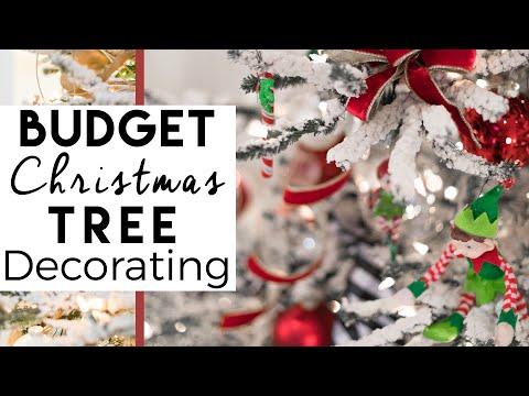 Christmas Tree | Christmas Tree Decorating on a Budget | 3