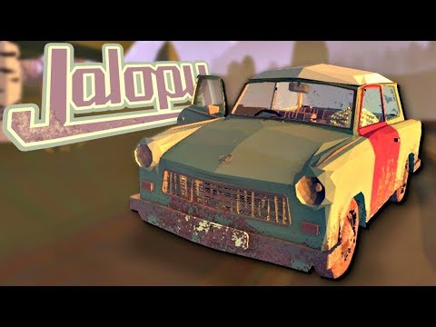 GOING OFF-ROAD TO SMUGGLE ILLEGAL GOODS ACROSS THE BORDER - Jalopy Full Release - Jalopy Gameplay