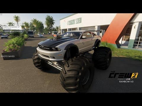 The Crew 2 Ford Mustang Monster Truck + More