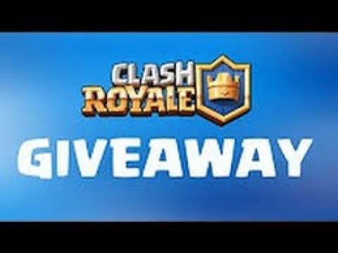 Free Clash Royale Account Giveaway !!