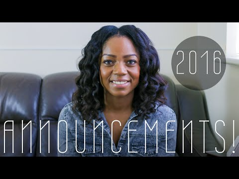 2016 UPDATES | ANNOUNCEMENTS! 😮