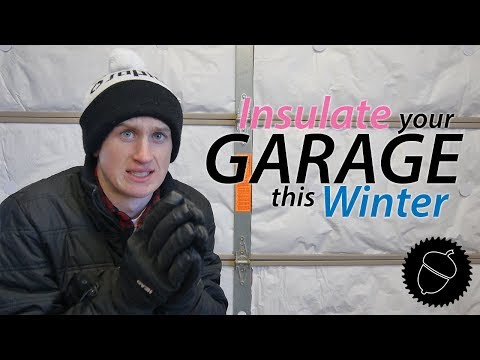 How to Insulate your Garage/Shop Door | FOR CHEAP!!