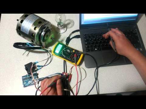 Arduino AC Motor Dimmer