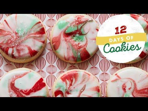Holiday Swirled Sugar Cookies | Food Network