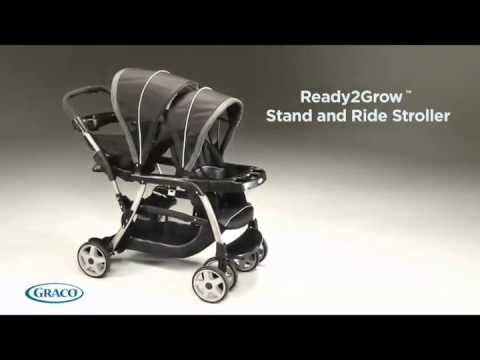 The Most Versatility Stroller, with 12 riding options.Graco Ready2Grow Double Stroller, Review.