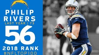 #56: Philip Rivers (QB, Chargers) | Top 100 Players of 2018 | NFL