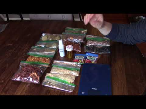 Dehydrated camping food with a twist