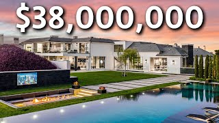 Inside the MOST EXPENSIVE Home in Calabasas   Mansion Tour