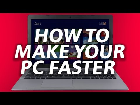 How to make your LAPTOP & NOTEBOOK & PC FASTER!