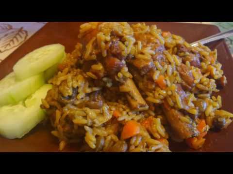 Pelau - Chicken and Rice One Pot Meal