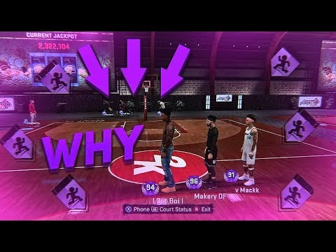 97 OVERALL COMEAROUNDS AT HIGHROLLERS - NBA 2K18