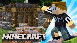 EXPLORING AN ABANDONED MINE (Minecraft)