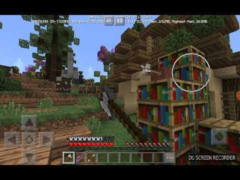 Playing mini games on the Mineplex Server in MCPE 1.2.0.22