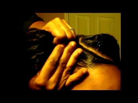 How to do the Best Goddess Hair Braiding Technique using Kanekalon hair Tutorial 2013