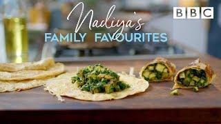 Spinach & Paneer Kati Rolls | Nadiya