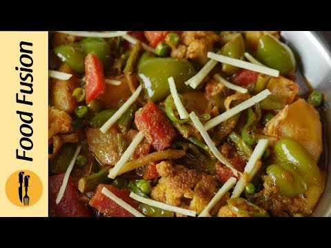 Mix Vegetable Korma Recipe By Food Fusion