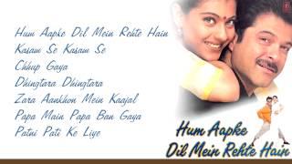 """Hum Aapke Dil Mein Rehte Hain"" Movie Full Songs | Anil Kapoor, Kajol | Jukebox"